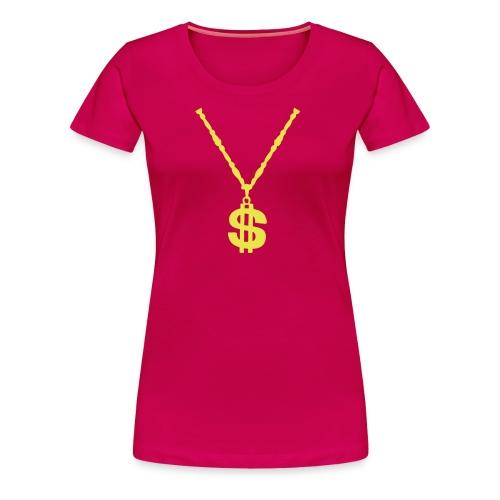 Haut avec collier $ - cany down - T-shirt Premium Femme