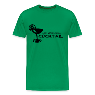 T-Shirts ~ Men's Premium T-Shirt ~ Been Working on a Cocktail