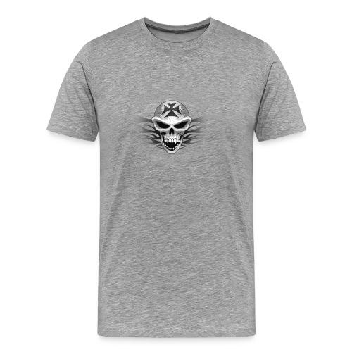 CRAZY BIKER T SHIRT - Men's Premium T-Shirt