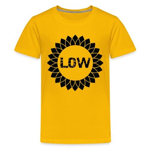 Low - Sunflower - Teenage Premium T-Shirt