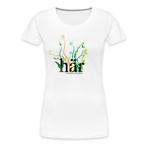 Omedveten närvaro - Premium-T-shirt dam