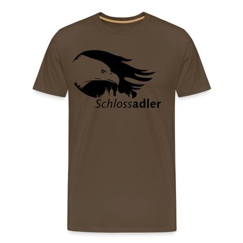 Schlossadler-Shirt, schwarz - Männer Premium T-Shirt