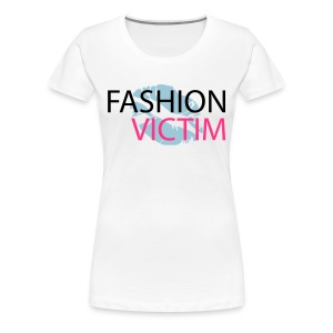 t-shirt fashion victim - T-shirt Premium Femme