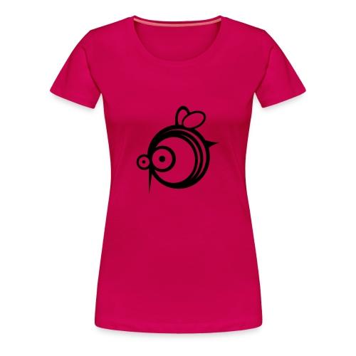 COMIC BEE GIRL - Women's Premium T-Shirt