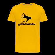 T-Shirts ~ Men's Premium T-Shirt ~ Government Fault