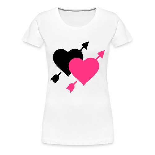 GIRLS HEART TEE - Women's Premium T-Shirt