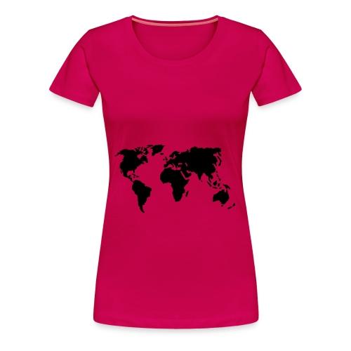 Camiseta femenina Estilo Mundo - Camiseta premium mujer