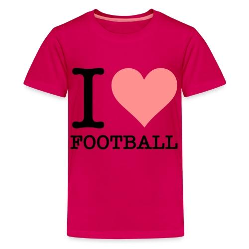 t-skjorte - Premium T-skjorte for tenåringer