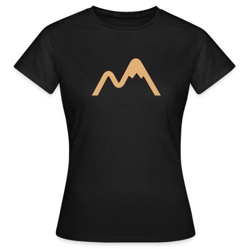 Womens Mountain Logo TShirt - Women's T-Shirt