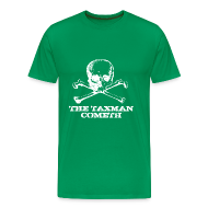 T-Shirts ~ Men's Premium T-Shirt ~ The Taxman Cometh