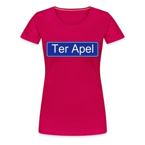 Women: Ter Apel t-shirt - Vrouwen Premium T-shirt