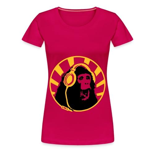 Monkeylicious - Premium-T-shirt dam