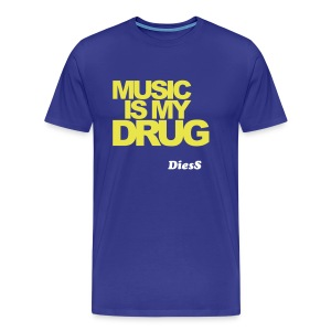 DiesS 'Addicted' T-shirt - Men's Premium T-Shirt