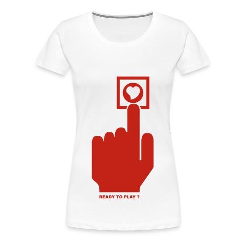 READY TO PLAY - Women's Premium T-Shirt