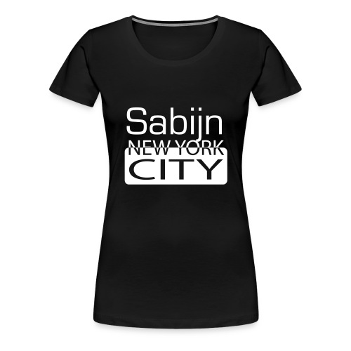 New York City Sabijn vrouwen - Vrouwen Premium T-shirt