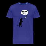 T-shirts ~ Mannen Premium T-shirt ~ Kattekop!