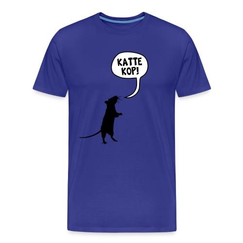 Kattekop! - Mannen Premium T-shirt