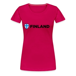 Finland - Women's Premium T-Shirt