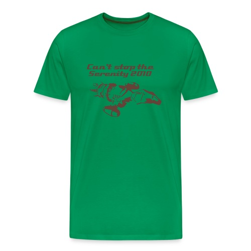 Can't Stop The Serenity 2010 - green - Men's Premium T-Shirt