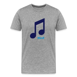 DiesS 'Music Note' T-shirt - Men's Premium T-Shirt