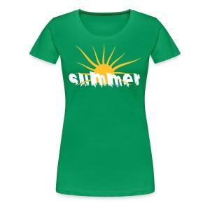 Tee Shirt Summer-été - T-shirt Premium Femme