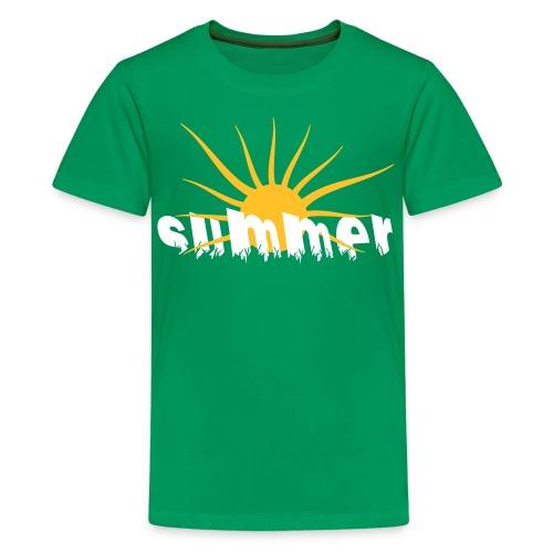 Tee Shirt Summer-été - T-shirt Premium Ado