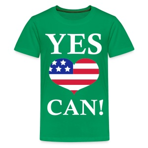 Yes we can! - Teenager Premium T-shirt