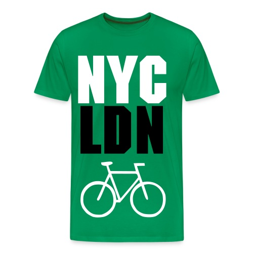 ALLCITY NYC:LDN RIDE  - Men's Premium T-Shirt