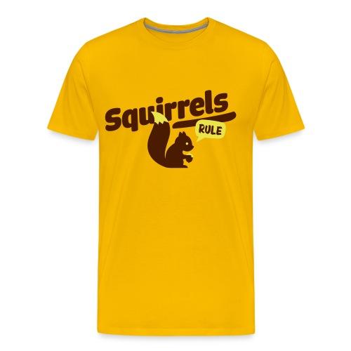 Squirrels! - Maglietta Premium da uomo