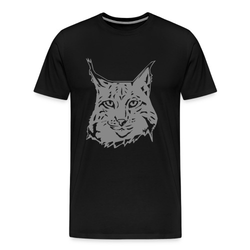 MEN'S LYNX SPARKLE T-SHIRT - Men's Premium T-Shirt