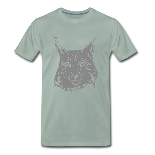 MEN'S LYNX SPARKLE T-SHIRT - Men's Premium T-Shirt