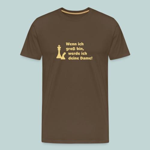 Bauer wird Dame einf. - Männer Premium T-Shirt