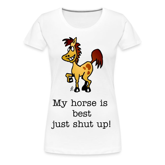 My horse is best
