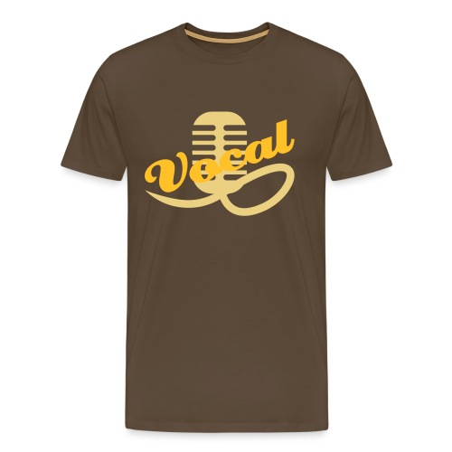 I'm with my band - vocal - Men's Premium T-Shirt