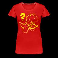 T-Shirts ~ Frauen Premium T-Shirt ~ Darwin-Mini-Dino