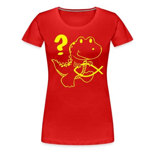 Darwin-Mini-Dino - Frauen Premium T-Shirt