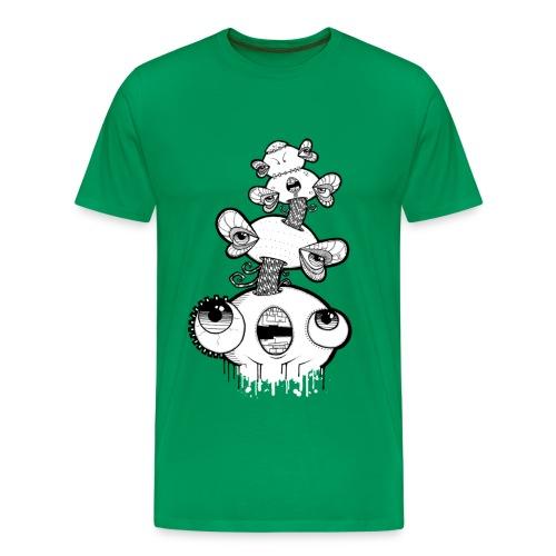 mydog sighs 2 sided - Men's Premium T-Shirt