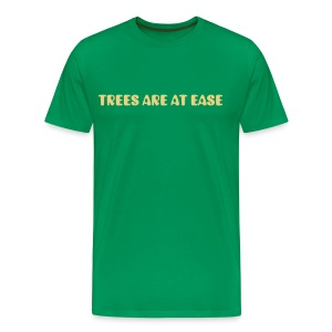 Trees are at ease plain t-shirt - Men's Premium T-Shirt