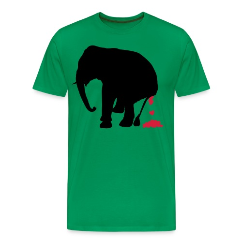 your love stinks elephant - Men's Premium T-Shirt