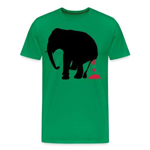 your love stinks elephant - Men's Premium T-Shirt