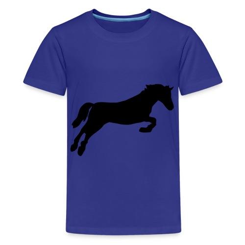 kids shirt paard - Teenager Premium T-shirt