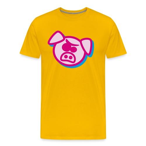 Angry pig - Men's Premium T-Shirt