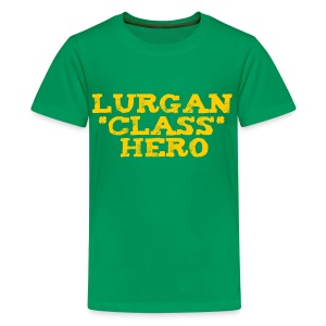 Lurgan Class Hero - Teenage Premium T-Shirt