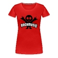 Red rock music heavy metal Women's T-Shirts