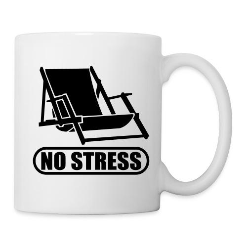 TASSE NO STRESS - Mug blanc