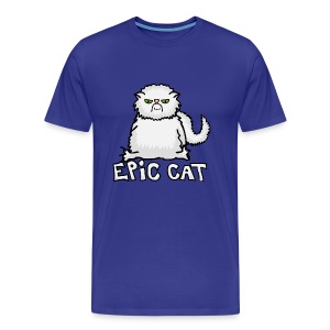 Epic Cat (HERR) - Premium-T-shirt herr