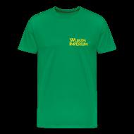 T-Shirts ~ Männer Premium T-Shirt ~ 2 Motive im Flockdruck