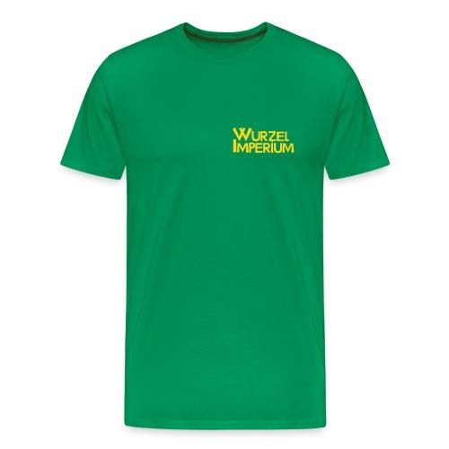 2 Motive im Flockdruck - Männer Premium T-Shirt