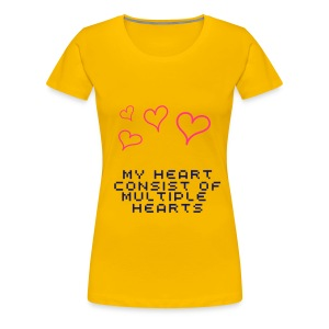 My heart - Women's Premium T-Shirt