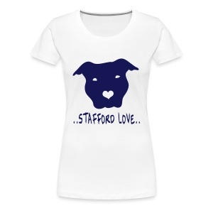 Womens 'Stafford Love' T-Shirt - Women's Premium T-Shirt